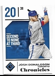 2018 Panini Chronicles Josh Donaldson card